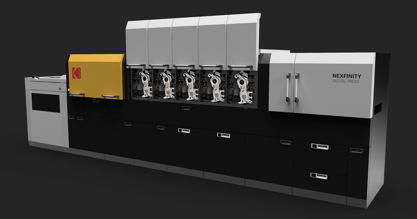 Mechanics of Kodak Nexfinity Digital Press by BZDesign